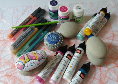 AcrylMarker  und PerlenPen